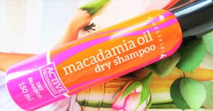 Trockenshampoo Macadamia Oil von Bioélixire