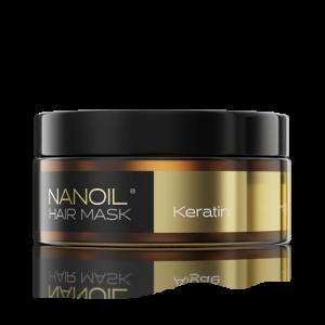 Nanoil. Haarmaske mit Keratin, die die Haare WIRKLICH regeneriert